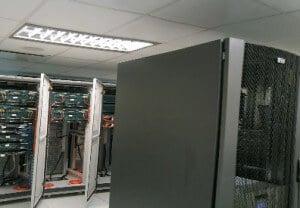 Webhosting-server-room